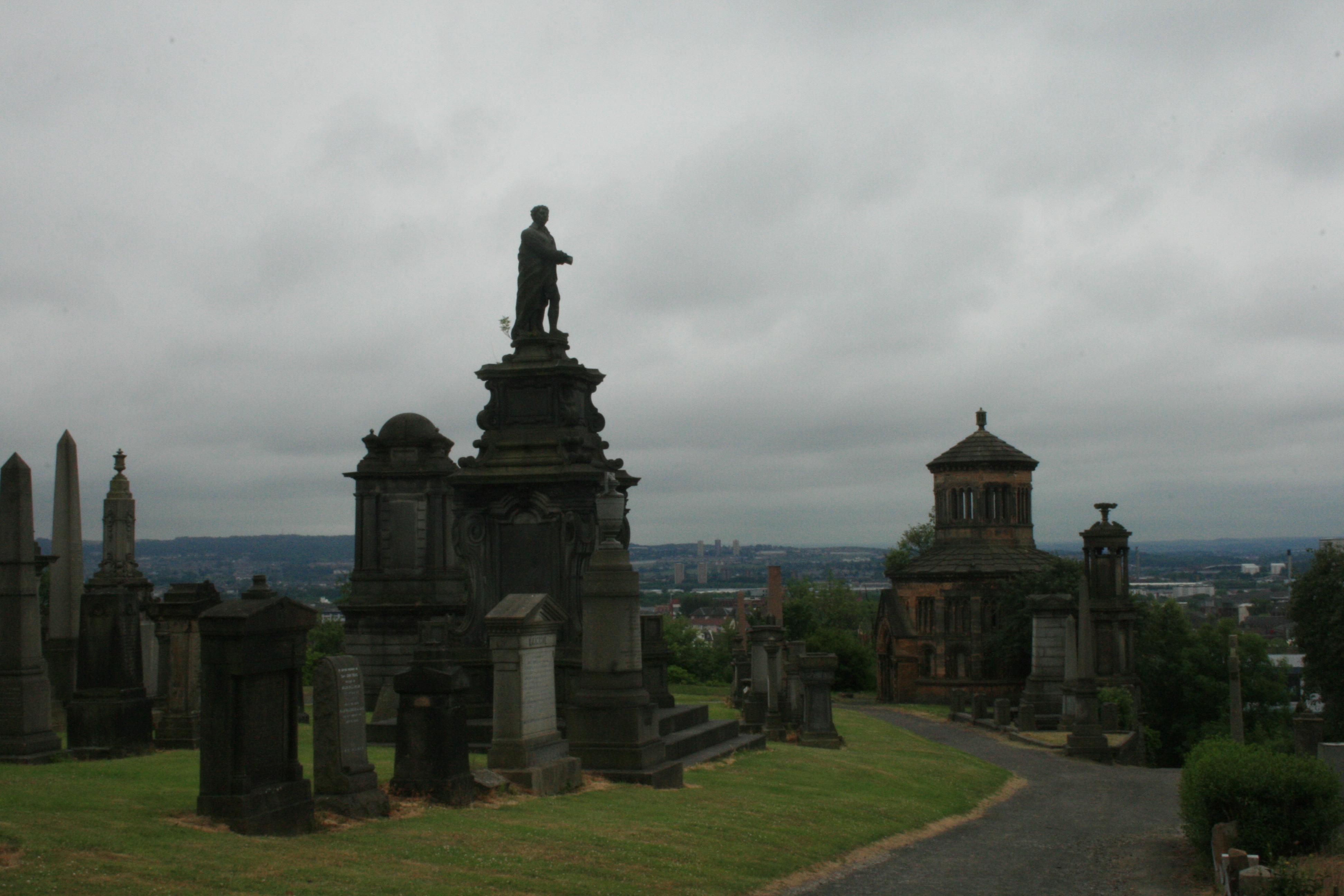 I dig graveyards